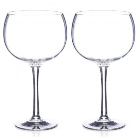 Newgrange Clear Gin Glass Pair, 700cc