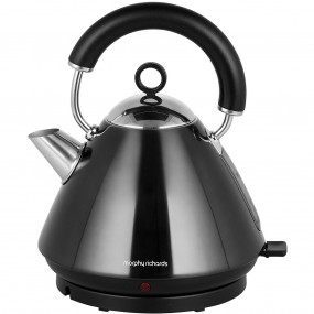 Morphy Richards Accents Pyramid Kettle - Black