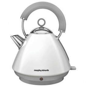Morphy Richards Accents Pyramid Kettle - White