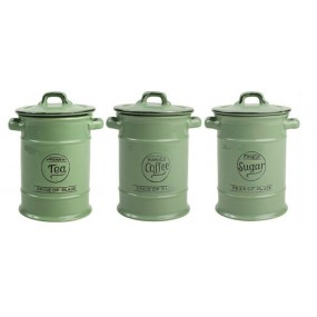 Pride of Place Green Tea, Sugar Set - Old Green Kitchen Storage
