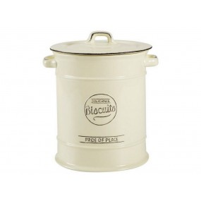 T&G Pride of Place Large Biscuit Jar - Old Cream Kitchen Accessories