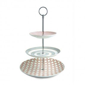 Spots & Stripes 3 Tea Cake Stand Kitchenware