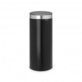 Brabantia Touch Bin, 30L, Matt Black Bins