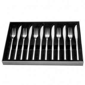 12 Pce Steak Set Knife & Fork Kitchenware