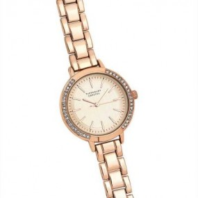 Tipperary Crystal Iris Rose Gold Watch
