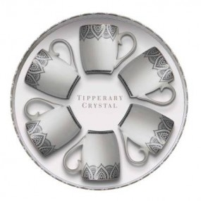 Tipperary Crystal S/6 Mandala Mugs Mugs & Cups