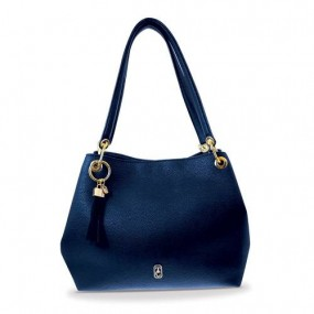 Tipperary Crystal Tote Bag - Sicily Navy Giftware