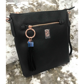The Chelsea Cross Body Pouch Black