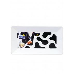 Tipperary Crystal Eoin O'Connor Cows Serving Platter