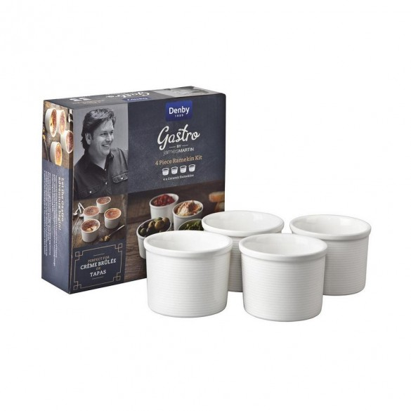 4 Piece Ramekin Kit - James Martin Serving Bowls