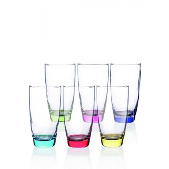 Newgrange Living Rainbow Party Tumblers (Set Of 6)