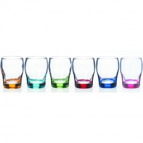 Newgrange Living Rainbow Juice Glass Set of 6