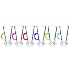 Newgrange Rainbow Latte Set of 6 - 270cc