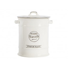 T&G Pride of Place Large Biscuit Jar - White Kitchen Accessories