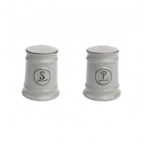 T&G Pride of Place Grey Salt & Pepper Set Kitchenware