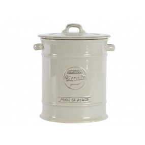 T&G Pride of Place Large Biscuit Jar - Grey