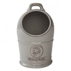 Pride of Place Salt Jar Grey Kitchen Accessories