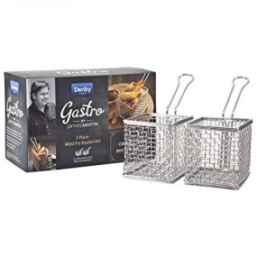 Denby James Martin Gastro - 2 Piece Mini Fry Basket Kit Serveware