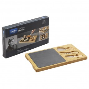 Denby James Martin Gastro - 5 Piece Cheese Board Set Dinner Sets