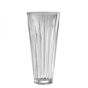 "Galway Crystal Willow 11"" Vase Crystalware"