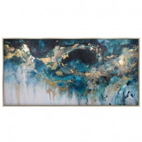 'Perfect Storm' Abstract Painting (152.4 x 76.2 x 3.8cm) Pictures / Canvas