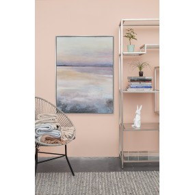 Scatter Box Abstract Wall Art Sunset - 76.2 x 101.6 x 3.81cm Picture Canvas
