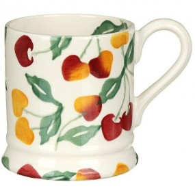 Emma Bridgewater Summer Cherries Half Pint Mug Mugs & Cups