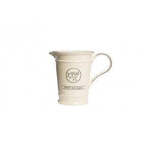 T&G Pride Of Place 2 Pint Jug In Old Cream Tableware