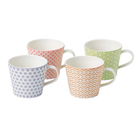 Royal Doulton Pastels Accent Mugs (Set of 4)