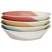 Royal Doulton 1815 Brights Pasta Bowls 22cm (Set of 4)