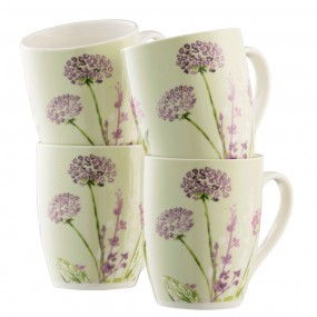 Belleek Floral Spree Set of4 mugs Mugs & Cups