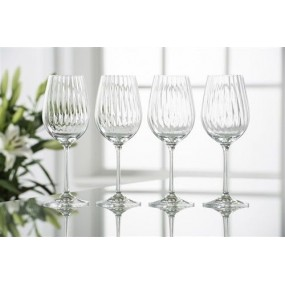 Belleek Erne Wine Glass Set of 4 Glassware