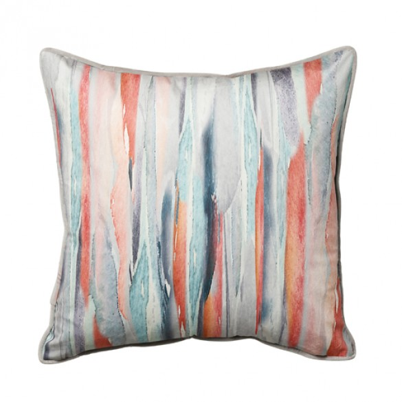Watercolour Stripe 45x45cm Multi Homeware