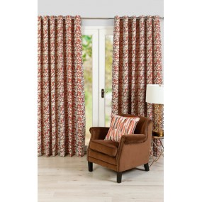 Abbeylands Sigma Orange Curtains 90X90