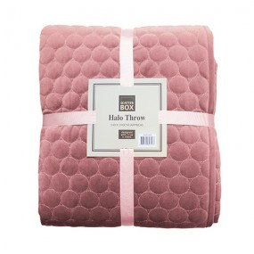 Scatter Box Halo Throw Blush - 140 x 240cm