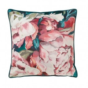 Scatter Box Sasha 45x45cm Cushion, Teal/Blush