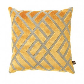 Scatter Box Senna 43x43cm Yellow Cushion