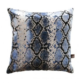 Scatter Box Viper 43x43cm Cushion, Blue