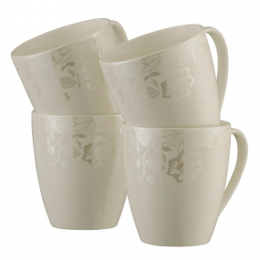 Belleek Evermore Set of 4 Mugs Mugs & Cups