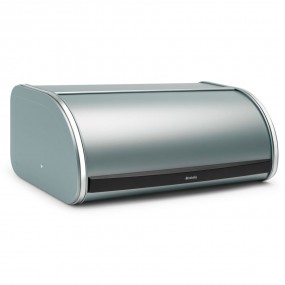 Brabantia Roll Top Bread Bin, Metallic Mint Bread Bin