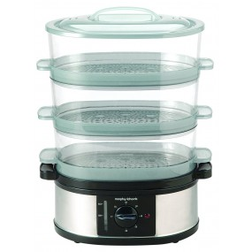 3 Tier Stainless Steel Steamer Steamers
