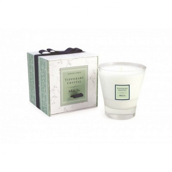 Tipperary Crystal White Tea Filled Tumbler Glass Giftware