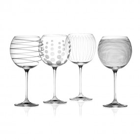 Mikasa Cheers Balloon Glass (Set of 4)