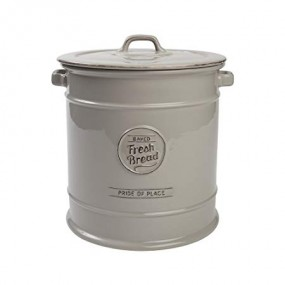 T&G Pride of Place Bread Crock Grey Kitchenware