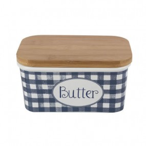 Katie Alice Vintage Indigo Large Butter Dish Kitchenware