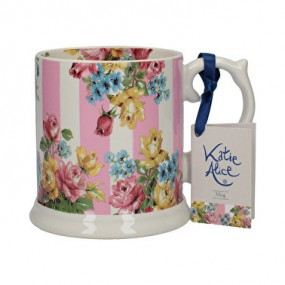 Blooming Fancy Stripe Tankurd Mug