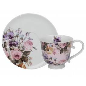 Katie Alice Wild Apricity Tea Cup and Saucer Set Mugs & Cups