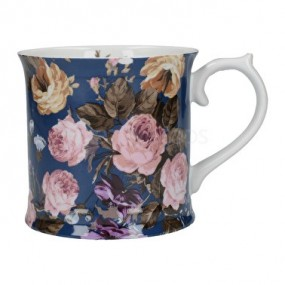 Katie Alice Wild Apricity Navy Floral Tankard Mug Mugs & Cups