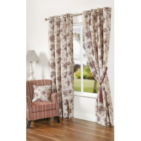 Ardlea 105x90 Red/purple Curtains