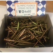 Rawlplug Chipboard Timber 6x40mm Screws
